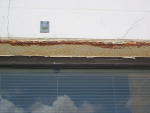 Rusted Structural Lintel