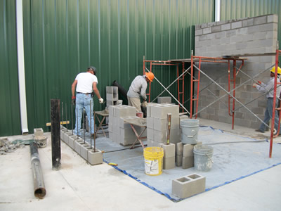 Building Explosion Proof Room In An Industrial Setting